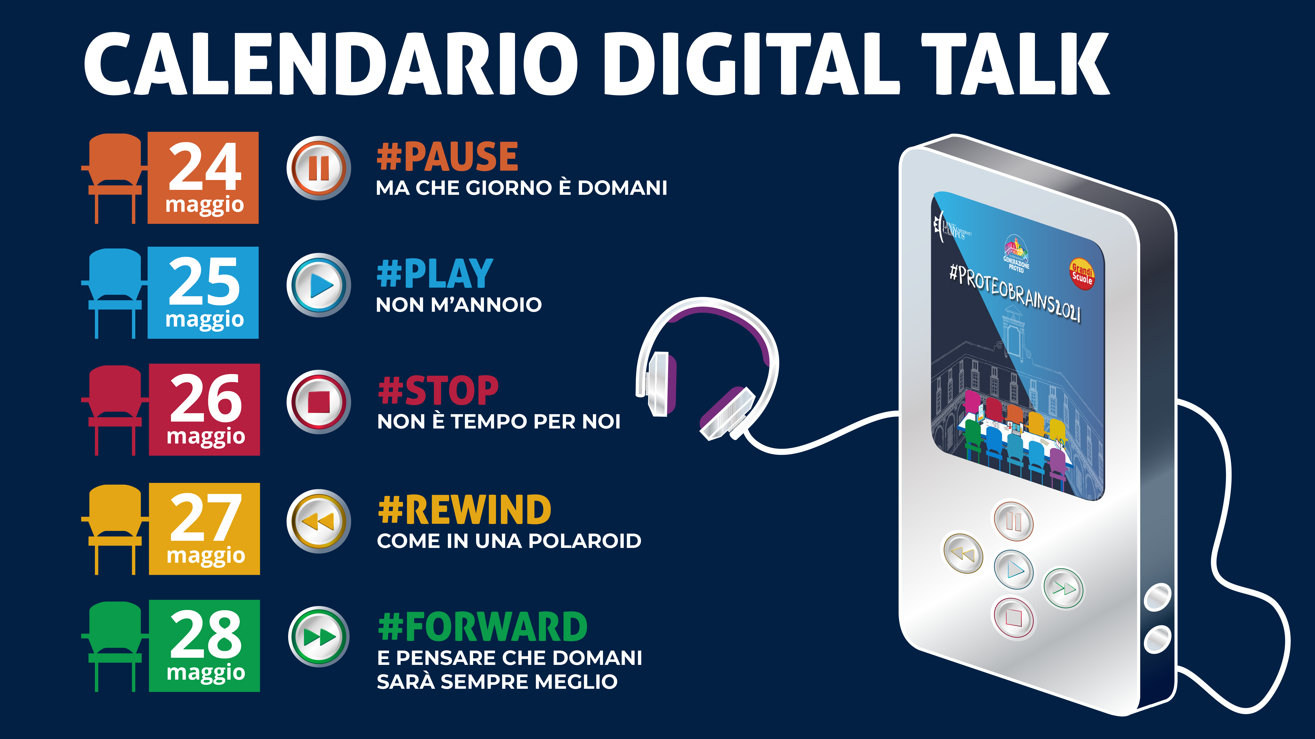Calendario Digital Talk #ProteoBrains2021