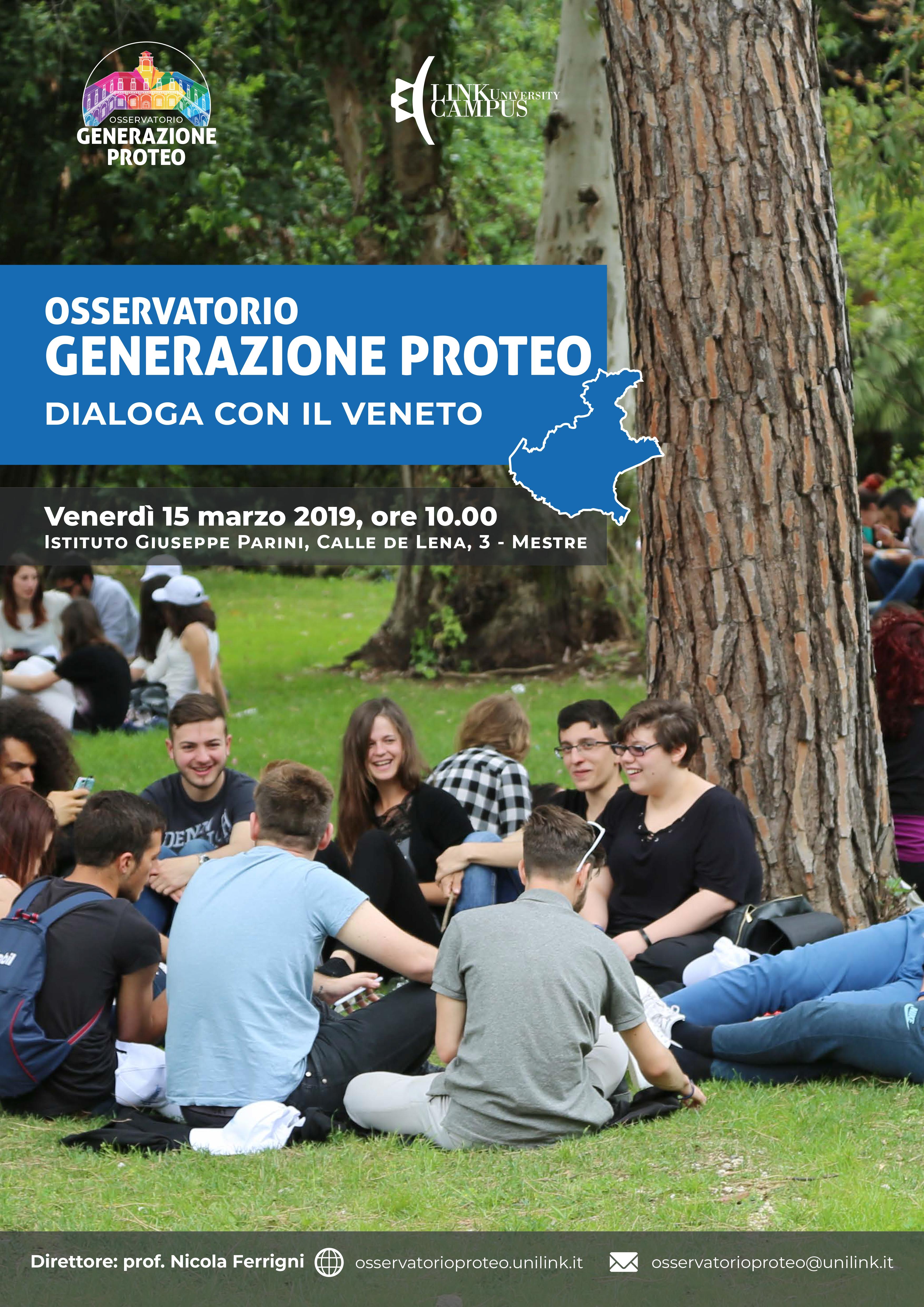 Generazione proteo incontra il Veneto Locandina